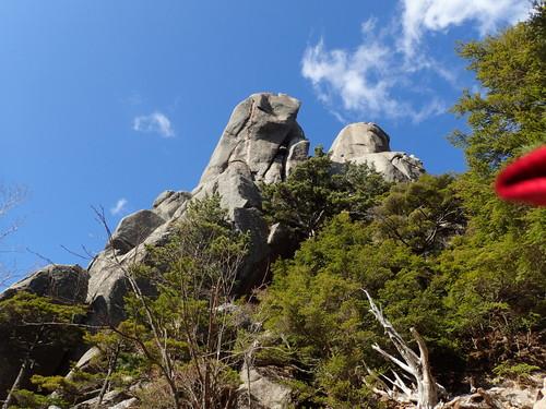 瑞牆山らしい岩
